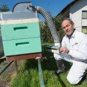 Die Bienensauna weckt bei Imkern Hoffnungen