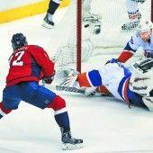 Islanders im Play-off an Washington gescheitert
