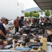 Letzter Teilemarkt für Oldtimer in Rankweil
