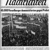 Kundgebung am 3. April 1965
