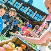 VN-Aktion Gesunde Jause für Rankweiler Schulkinder