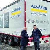 Erster Alváris-Lkw auf Tour