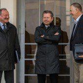 Ex-Vizekanzler Gorbach pünktlich vor Gericht