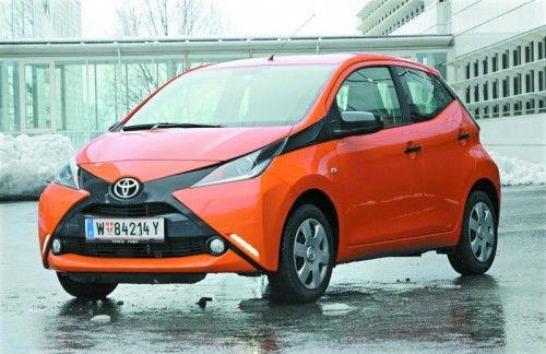 Frisch und frech schaut der kleine Toyota Aygo drein. Ein Gute-Laune-Auto mit vielen Qualitäten. Fotos: gasser