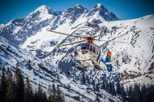 Das Mädchen wurde mit dem Hubschrauber Gallus 1 zum Spital geflogen. Wucher