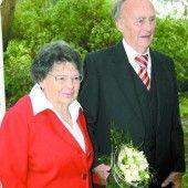 Edith und Rudolf Flatz feiern ihr Eiserne