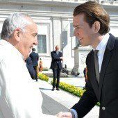 Papst lobt Österreich für Religionsdialog