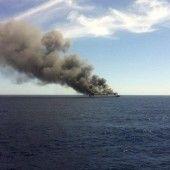 Fähre brannte – 152 Passagiere gerettet