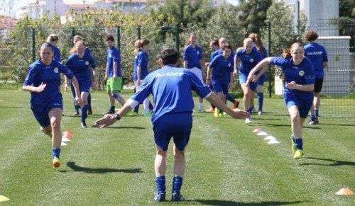 Gute Bedingungen im Trainingslager in Side. Fotos: Verein