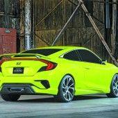 Honda mit Ausblick auf neues Civic-Design