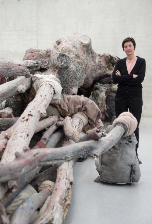 Im Kunsthaus sind neue Arbeiten von Berlinde De Bruyckere sowie die große Arbeit für die Biennale Venedig zu sehen.  Foto: B. Rhomberg