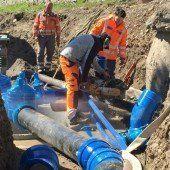 Wasser fließt in Brunnenfeld bald im Kreis