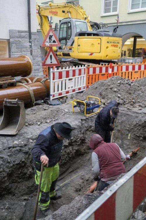 Rund 5,5 Mill. Euro werden in die Altstadt investiert. VN/Hartinger
