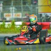 Kart-Talent Hold fährt bereits in Topform
