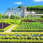 Traumhafte Gärten im Schloss von Villandry