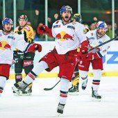 Salzburg gewann das erste Finale glatt 6:1