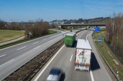 LautMinisteriumssprecher Michael Siefener wurde ab der Grenze bis kurz nach der Ausfahrt Lindau Tempo 80 verordnet.  Foto: VN/Steurer
