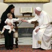 Protokoll bei Papst ignoriert