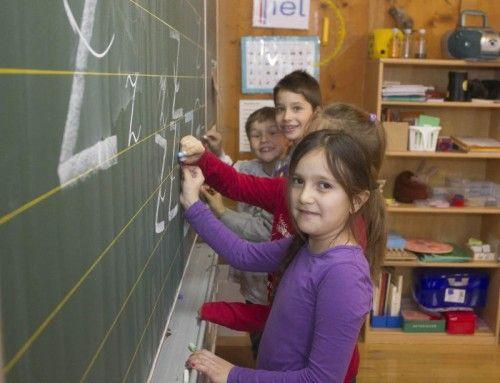 Lernen und Leben in der Schule: Ganztagsschulformen haben Zukunft.  Foto: VN/Paulitsch