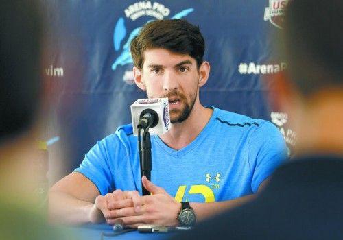 Michael Phelps hat Pläne für die Sommerspiele 2016. Foto: ap