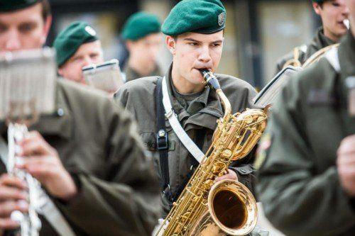 Militär, Bundesheer, Musik, reportage militärmusik vorarlberg