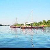 Ein Ausflug mit dem Boot