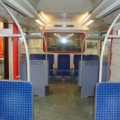 S-Bahn-Tür zugemauert