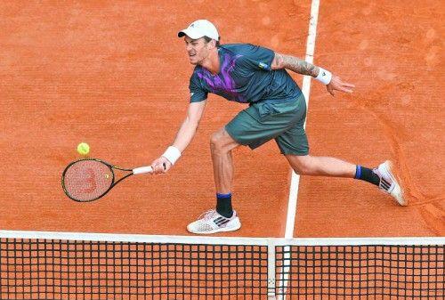 Nach zwei Siegen war für Andreas Haider-Maurer in Monte Carlo gegen Novak Djokovic Endstation. Foto: apa