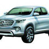 Mercedes hat Pläne für einen Pick-up