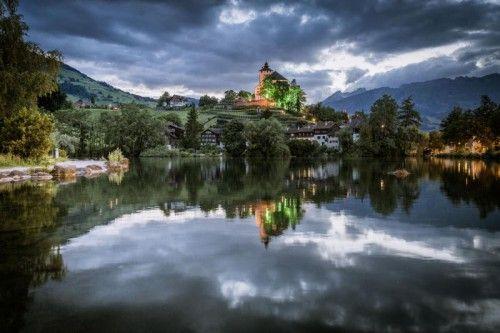 Ort der Veranstaltungen ist das Schloss Werdenberg in der Ostschweiz.  Foto: Daniel Ammann
