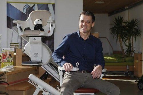 Oswald Mähr, Pandas-Inhaber, bietet komplexe Lösungen für Pflege und häusliche Mobilität. VN/Paulitsch