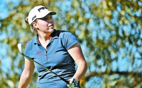 Prima Start in die Golfsaison: Julia Unterweger. Foto: gepa