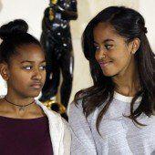 Michelle Obama will bescheidene Töchter