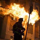 Baltimore teilweise zur Kriegszone geworden
