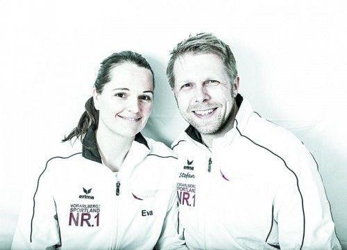 Selbstverteidigungsmeister Eva Kathrein und Stefan Mayr.