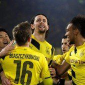 Im Nachsitzen schafft der BVB das Halbfinale