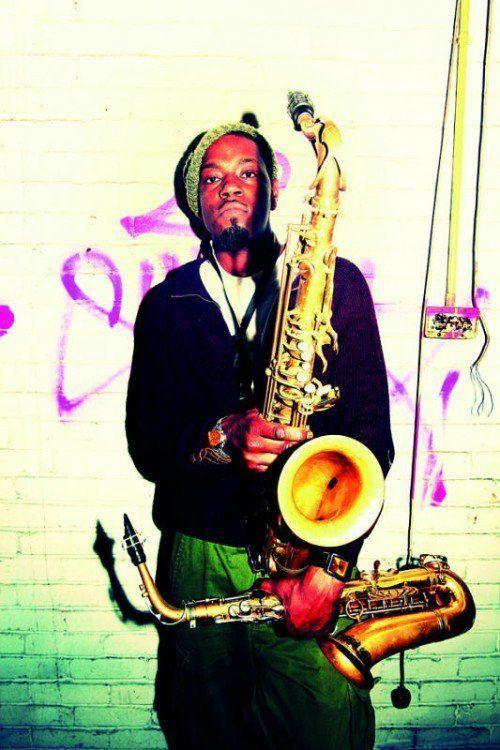 Soweto Kinch hat nicht nur in Oxford Geschichte studiert, er ist auch einer der gefragtesten Saxophonisten dies- und jenseits des Atlantiks. FOTO: spielboden