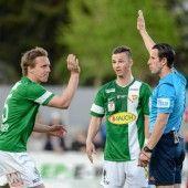 Zwei Tore der Austria, aber Wacker siegte 1:0