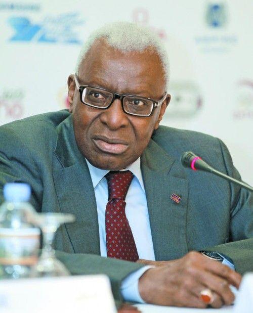 Steht in der Kritik: IAAF-Chef Lamine Diack. Foto: Reuters