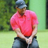 Trainingsrunde von Tiger Woods in Augusta
