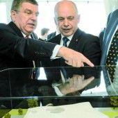 Das IOC feiert 100. Geburtstag in Lausanne