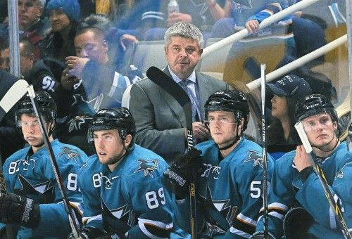 Todd McLellan coacht das Team Kanada bei der WM. Foto: ap