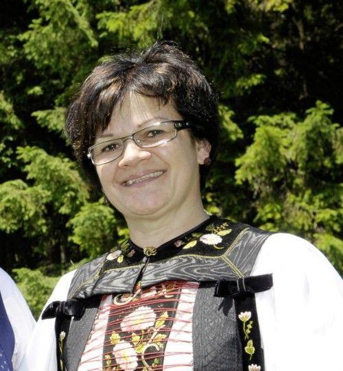Ulrike Bitschnau tritt als erste Frau an die Spitze des Landestrachtenverbands. Foto: Privat