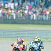 Marquez stürzte im Duell mit Rossi
