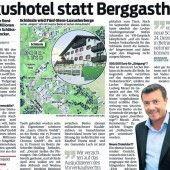 Justiz nimmt Schlössle-Deal in Lech ins Visier