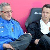 Knaller geht, Lederer nun alleiniger Admira-Coach