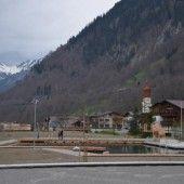 Naturbadeteich in Klösterle vor Fertigstellung