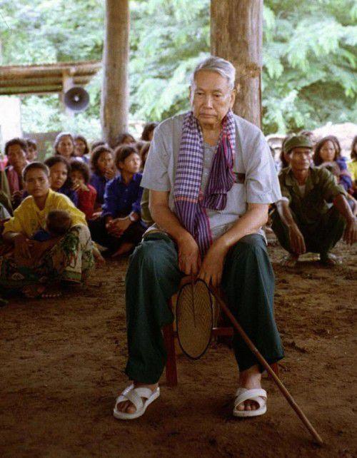"""1979 wurde Pol Pot, der ehemalige """"Bruder Nr. 1"""", von einem Volkstribunal der Roten Khmer zu lebenslangem Hausarrest verurteilt.  REUTERS"""