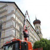 Kirchendach in Schruns wird generalüberholt