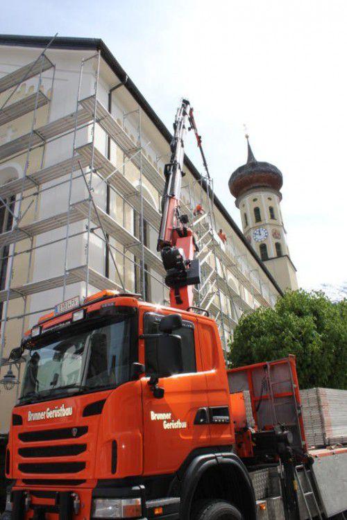 250.000 Euro werden in die Arbeiten investiert. Foto: VN/sas